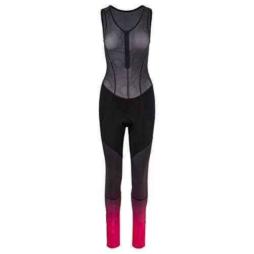 AGU - Radsport-Trägerhosen für Damen in black, Größe M