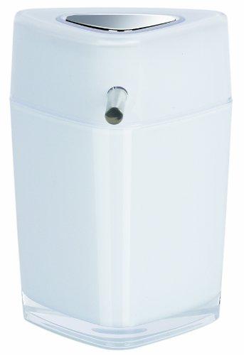 Spirella 10.15470 Trix Acrylique Distributeur Savon Blanc