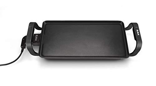 Plancha de asar eléctrica, ELMA - Electrodoméstico de calidad, original Plancha de Asar Electrica, Parrilla, Plancha Grill de Cocina Antiadherente
