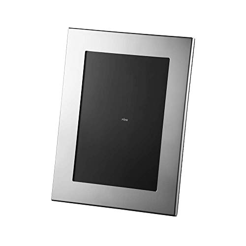 Porta Retrato Carrara Velvet Riva Prata 20x25 Inox vidro e latão
