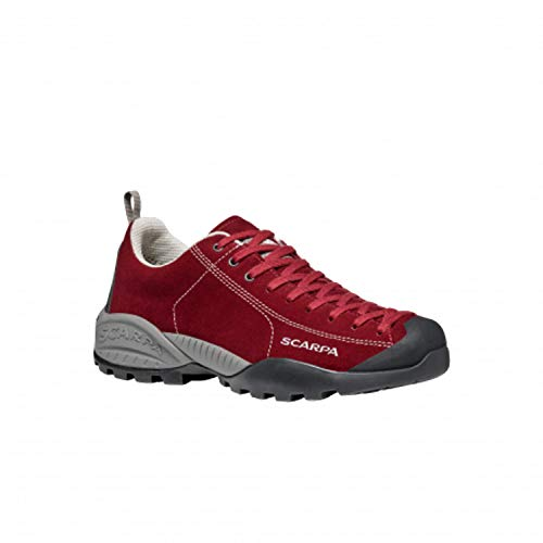 Scarpa Mojito GTX, Zapatillas de Trail Running, Red Velvet-Red Gore-Tex BM Spider Trek, 41.5 EU
