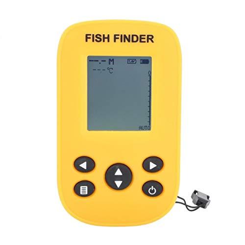 Tuzi Qiuge Alarma Escuela de Peces XF-88 portátil Visual de Alta definición de Pantalla inalámbrico buscador de los Pescados buscador de los Pescados de Profundidad Detector Sonda Ingxijie1ha