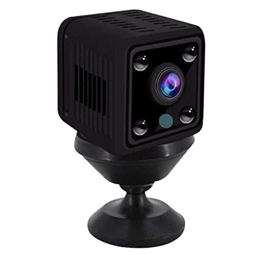 LAANCOO Cámaras de vigilancia de cámaras de Seguridad X6 inalámbrica Wi-Fi Mini cámara con visión Nocturna para el hogar Interior de Vigilancia Exterior