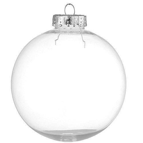 Clear Christmas Ornaments.Clear Christmas Ornament Amazon Com