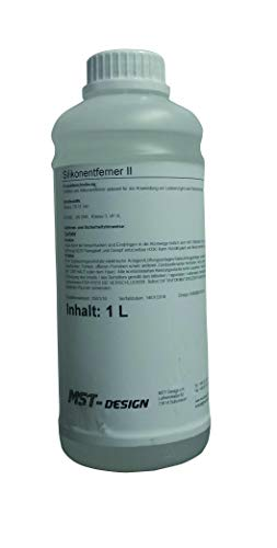 MST-Design Silikonentferner 1 Liter (Lang) I Entfetter Reiniger Silikon-Entferner I Vorreiniger für Lackierarbeiten