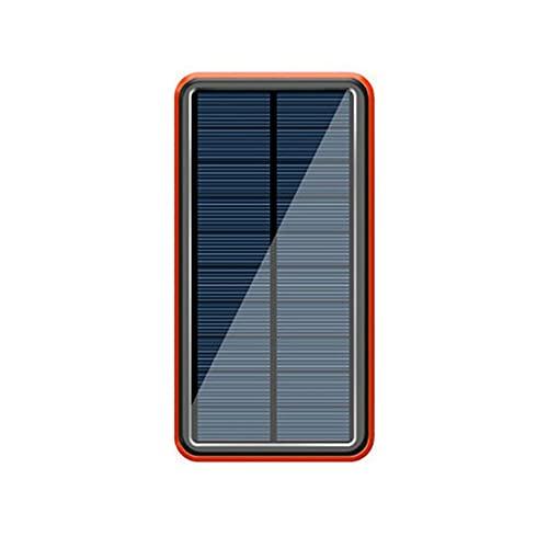 RHNE Paquete de batería Solar de 8000 mah, Banco de energía inalámbrico, Cargador de teléfono móvil portátil de 4 USB para Xiaomi para Samsung para iPhone