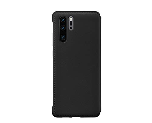 Huawei Funda - Flip Wallet Cover Negra para Huawei P30 Pro