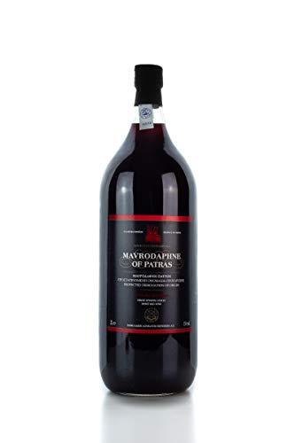 Mavrodaphne Loukatos 15% 2 Liter Flasche griechischer Süßwein Likörwein Dessert Rotwein