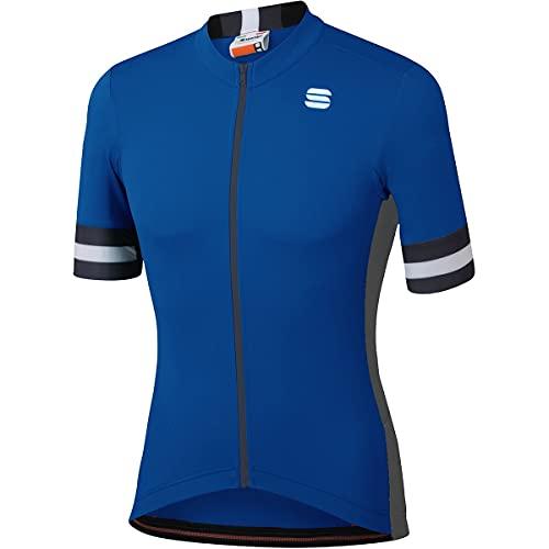 SPORTFUL Camiseta de ciclismo Kite para hombre., Hombre, Cerámica azul, XX-Large