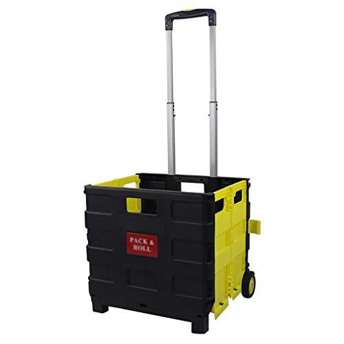 LIZIGWC Einkaufstrolleys Trolley für Einkaufswagen für Haushaltswaren Trolley für Einkaufswagen für Lebensmittel Wagen für Gepäckwagen für Wohnwagen Klappwagen (größe : No Cover)