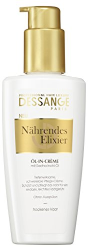 Dessange Haarpflege Nährendes Elixier Öl-in-Crème, 125 ml