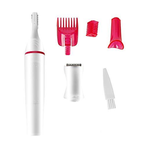 Frauen Elektrorasierer, Bikini Haarschneider 4-in-1 Frauen Haarrasierer, Haarentferner Geschenk für Frau Mädchen Dame