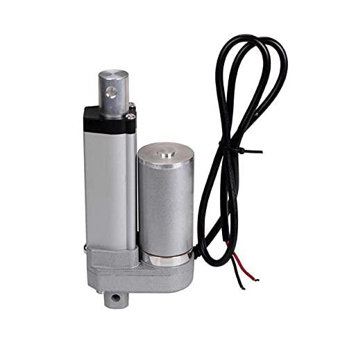 LUOHAIMEI. Elektrischer linearer Aktuator 24V DC-Motor 25mm-1000mm-Hub-Max-Schub 1500N / 150kg Last für Zugangskontrollsysteme oder Pflegebett (Speed(RPM) : 1000mm Stroke, Voltage(V) : 15mm s 900N)