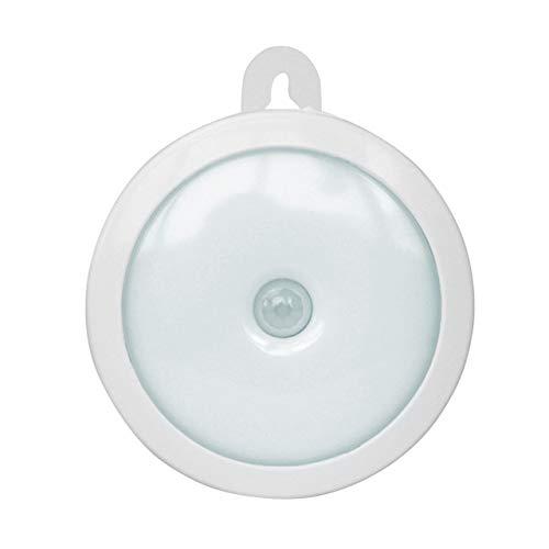 EmNarsissus Lámpara LED inalámbrica portátil PIR Sensor de Movimiento Luz de Pared Luz de Noche Luz Brillante Lámpara Brillante para Armario de Pasillo