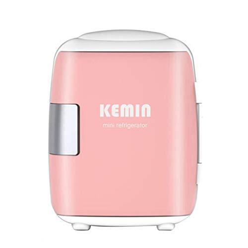 Mini refrigerador 10 litros-refrigerador pequeño portátil para Cerveza y Bebidas-Dormitorio, Productos para el Cuidado de la Piel, con Funciones de enfriamiento y conservación del Calor