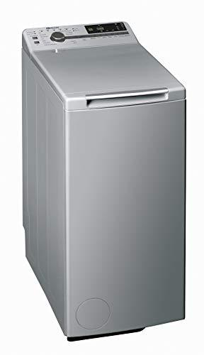 Bauknecht WMT Silver 7 BD N Toplader-Waschmaschine / 7 kg / 1152 UpM/Hygiene+Programm/ Kurz30' / 15° Green&Clean/Startzeitvorwahl/SoftOpening/Vollwasserschutz