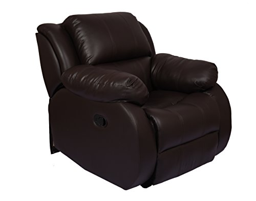 The Couch Cell Manual Recliner in Brown