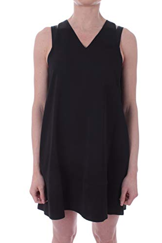 Calvin Klein V-NK Flared Dress Abito da Donna Calvin Black,K202022