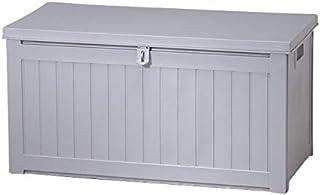 ゴミ箱 屋外 ダストボックス 収納ボックス 収納ベンチ 防水 大容量 大型 ふた付き ストッカー ごみ箱 おしゃれ momo 190L 最短 グレー