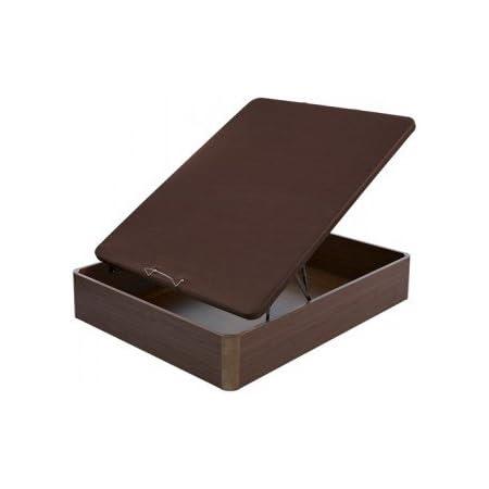 Flex - Canapé Abatible Madera Transpirable Tapa 3D - 135X190, Color Wengue