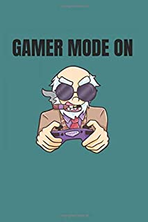 Funny Gamer Notebook: Graph Paper 1cm Journal 6x9 - 120 Pages