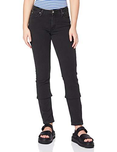 Lee Elly Jeans, Noir délavé, 27W x 31L Femme