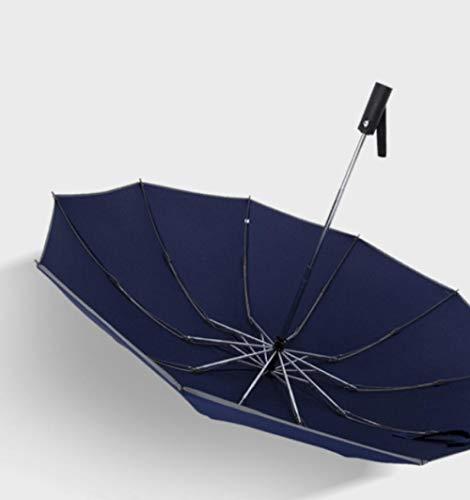 TWGDH Paraguas automático Masculino Reverso Plegable s Coche a Prueba de Viento con Paraguas Paraguas de Gran tamaño Femenino Creativo Estudiante Paraguas