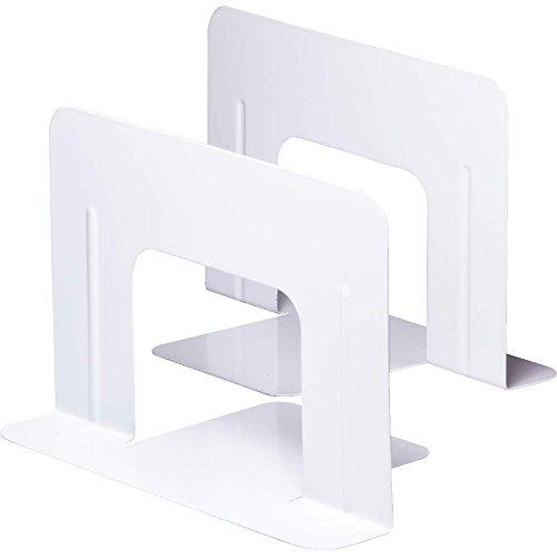 ソニックブックエンドワイド1組(2枚)白DA-550-W