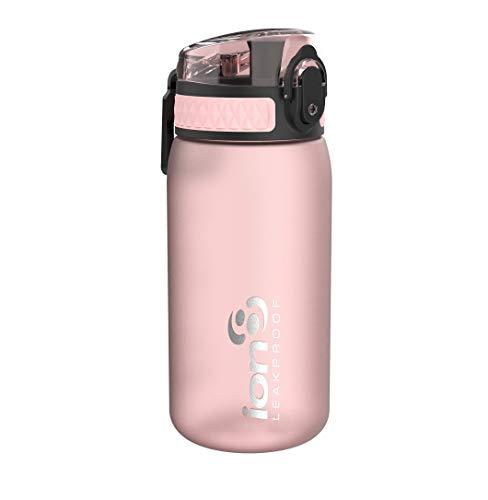 ion8 Auslaufsichere Kinder Trinkflasche, BPA-frei, Rose