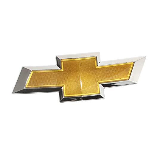 YEEXCD Car Front Hinter Grille Abzeichen Emblem 3D-Metall-Aufkleber für Chevrolet 24x8cm