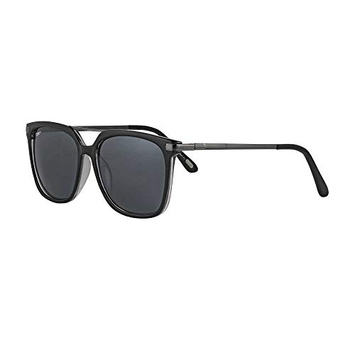 Zippo Sonnenbrille 2020 OB87-03 schwarze Gläser mit dunkelgrauen Bügeln