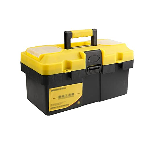 Cassetta degli attrezzi completa Cassetta degli attrezzi Manutenzione domestica Manutenzione elettrica Stoccaggio elettricista multifunzionale hardware in plastica riparazione auto addensare organizza