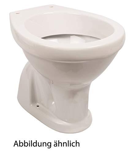 Calmwaters® - Universal - Stand-WC mit senkrechtem Abgang innen als Tiefspüler in Weiß - 07AB2267