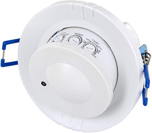 Unterputz HF Radar 360° Bewegungsmelder schwenkbar - LED geeignet - 1W-1200W 230V