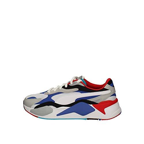 PUMA Herren Sneaker RS-X Puzzle Sneaker Weiss F05 371570 weiß 816277