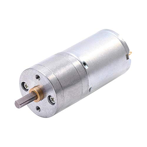 DGPOAD Motor de Engranaje, Motor de CC, 6 V, 12 V, Motor...
