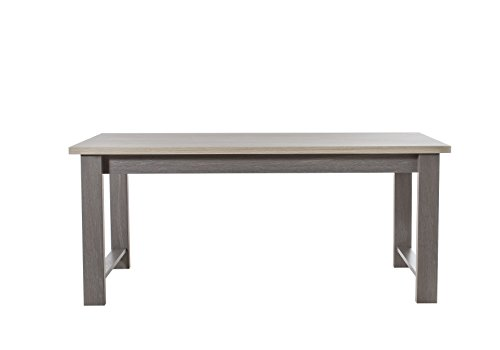 Gami Table rectangulaire, Bois, 90 x 180 x 77 cm