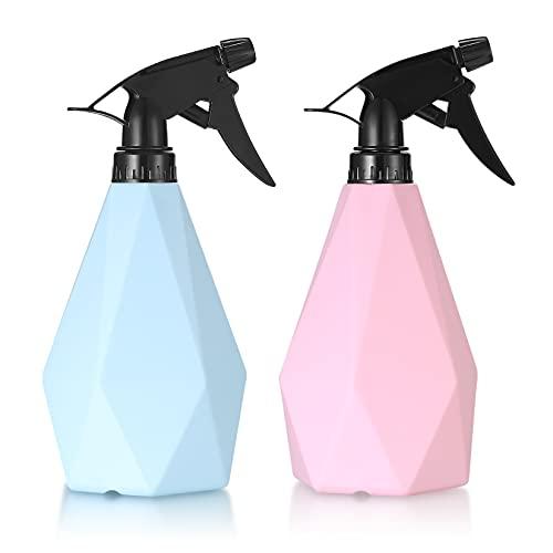 2 Piezas Pulverizadores de Plantas, Pulverizador Agua de Gatillo, 600ML Botellas de...