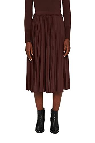 Esprit 071EE1D304 Falda, 220/marrón, XS para Mujer