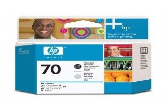 Original HP C9407A / 70 Druckkopf (schwarz) für Designjet Z 2100, 3100, 3200, 5200; Photosmart Pro B 8850, 9180