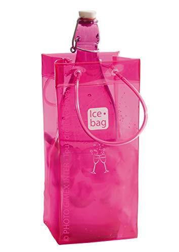 Ice Bag 17400 - Sacchetto rinfrescante per Bottiglie, Colore: Rosa
