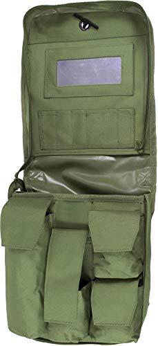 normani BW Waschzeugtasche mit Spiegel Kulturbeutel zum Aufhängen Farbe Oliv