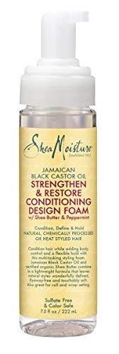 Sheamoisture Shea Moisture Jamaican Black Castor Oil Strengthen & Restore Conditioning Design Foam (Pack of 6)