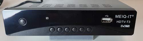 Decoder ricevitore digitale terrestre DVB-T2 FULL HD 1080P con scart H.265