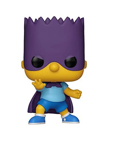 Funko Pop Animation: Simpsons-Bart-Bartman Figura Coleccionable, Multicolor (33876)