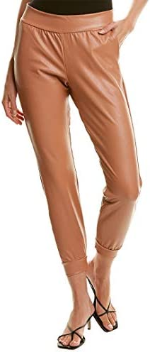 commando Faux Leather Jogger Vegan Leather Jogger Sweat Pants for Women Luxury Loungewear Gym product image