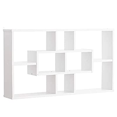 ✅ESTANTE ELEGANTE. Este mueble de HOMCOM tiene un diseño sencillo, pero muy elegante. Un mueble multiusos para cualquier rincón de casa. ✅DIFERENTES USOS. Se puede apoyar sobre el suelo y anclarlo a la pared con el sistema que incluye, pero también e...