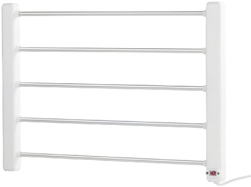 Sichler Haushaltsgeräte Handtuchheizung: Elektrisch beheizbarer Handtuchwärmer (Beheizter Handtuchhalter)