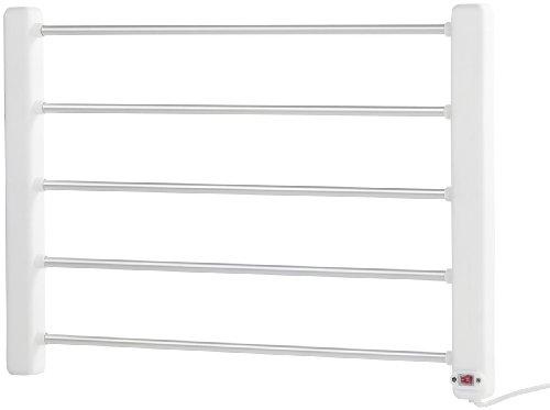 Sichler Haushaltsgeräte Handtuchtrockner: Elektrisch beheizbarer Handtuchwärmer (Handtuchhalter elektrisch)