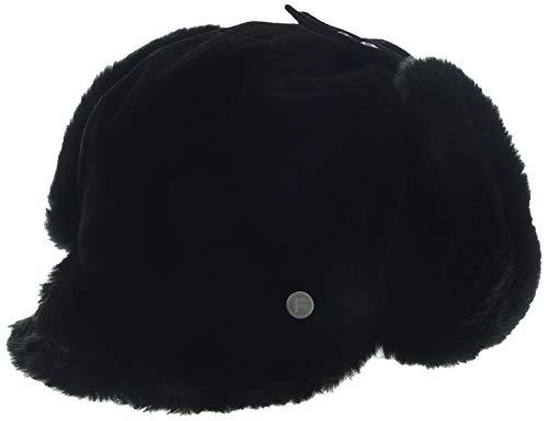 FancetHat FancetHat Warme Ohrenschutz Mütze Kunstfell Ohrenklappe Baseball Cap L/XL Schwarz